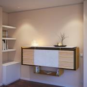 Bar wall console